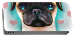 The Love Pug Portable Battery Charger