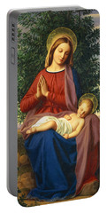 The Madonna And Child Portable Battery Charger