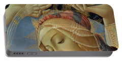 The Madonna Of The Magnificat Portable Battery Charger