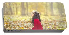 The Magic Of Autumn Portable Battery Charger