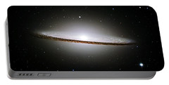 The Majestic Sombrero Galaxy Portable Battery Charger
