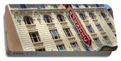 Portable Battery Charger featuring the photograph The Majestic Theater Dallas #1 by Robert ONeil