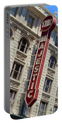 Portable Battery Charger featuring the photograph The Majestic Theater Dallas #2 by Robert ONeil