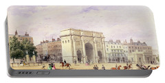 The Marble Arch Wc On Paper Portable Battery Charger