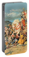 The Mighty King Of Chivalry Richard The Lionheart Portable Battery Charger