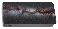 The Milky Way From Scorpio And Antares To Perseus Portable Battery Charger