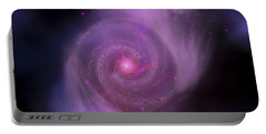 The Milky Way Galaxy And Andromeda Portable Battery Charger