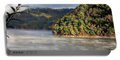The Mists Of Watauga Portable Battery Charger by Tom Culver