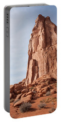 Portable Battery Charger featuring the photograph The Monolith by John M Bailey