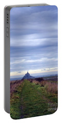 The Mont Saint Michel In Normandy France Portable Battery Charger