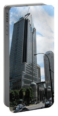 Portable Battery Charger featuring the photograph The Montreal Skyscraper by Shawn Dall