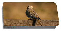 The Morning Dove Portable Battery Charger by Robert Frederick