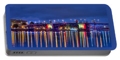 Morrison Bridge Reflections Portable Battery Charger by Thom Zehrfeld