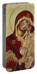 The Mother Of God -the Don Icon Portable Battery Charger