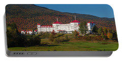 The Mount Washington Hotel In Autumn Portable Battery Charger