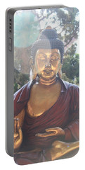 The Mystical Golden Buddha Portable Battery Charger