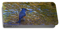 Portable Battery Charger featuring the photograph The Naiad by Gary Holmes