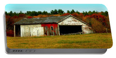 Portable Battery Charger featuring the photograph The Old Barn by Bruce Carpenter