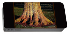 The Old English Oak Tree Portable Battery Charger