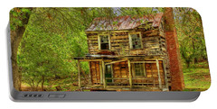 The Old Home Place Portable Battery Charger by Dan Stone