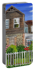 The Old House Portable Battery Charger by Laura Forde