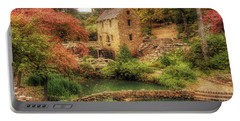 The Old Mill In Autumn - Arkansas - North Little Rock Portable Battery Charger by Jason Politte