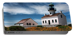 The Old Point Loma Lighthouse By Diana Sainz Portable Battery Charger
