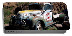 The Old Truck Portable Battery Charger by Dany Lison