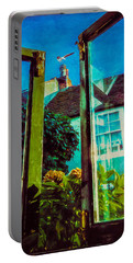 Portable Battery Charger featuring the photograph The Open Window by Chris Lord