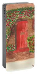 The Orange Door Portable Battery Charger by Tracey Williams