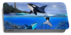 The Orca Family Portable Battery Charger