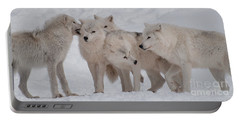 Portable Battery Charger featuring the photograph The Pack by Bianca Nadeau