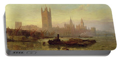 The Palace Of Westminster, 1892  Portable Battery Charger