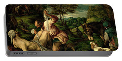 The Parable Of The Good Samaritan Portable Battery Charger