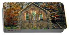 Portable Battery Charger featuring the photograph The Parkside Chapel by Gary Keesler