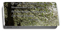 The Perfumed Cherry Tree 1 Portable Battery Charger