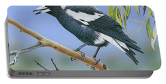 The Pied Piper - Australian Magpie Portable Battery Charger
