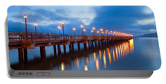 Portable Battery Charger featuring the photograph The Pier by Jonathan Nguyen
