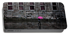 The Pink Umbrella Portable Battery Charger