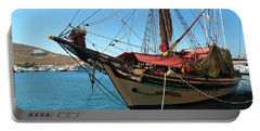 The Pirate Ship  Portable Battery Charger