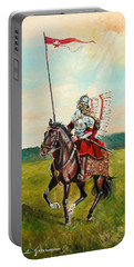 The Polish Winged Hussar Portable Battery Charger