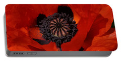 The Poppy Is Also A Flower Portable Battery Charger