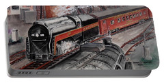 The Powhatan Arrow Roars Through The Yards Into Portmouth Portable Battery Charger