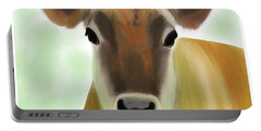 The Pretty Jersey Cow  Portable Battery Charger