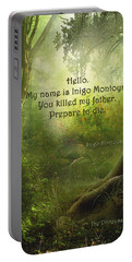 The Princess Bride - Hello Portable Battery Charger