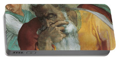 The Prophet Jeremiah Portable Battery Charger