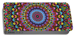 The Psychedelic Days Portable Battery Charger