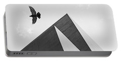 The Pyramids Of Love And Tranquility Portable Battery Charger