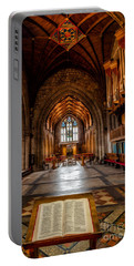 Portable Battery Charger featuring the photograph The Reading Room by Adrian Evans