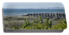 Portable Battery Charger featuring the photograph The Real Gulf Coast by Debra Forand